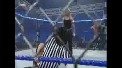 Wwe Raw 6.26.2009 Jeff Hardy and Rey Mysterio vs Chris Jericho and Edge мач в клетка 3/3