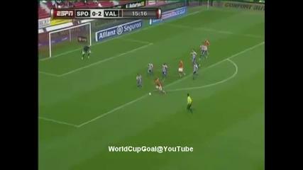 Sporting Gijon vs Valencia 0 - 2