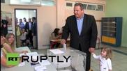 Greece: Kammenos accuses Greek media of terrorism as he casts ballot