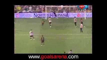 Athletic Bilbao Vs. Barcelona 1 - 4 Xavi Супер Гол 13.05.2009