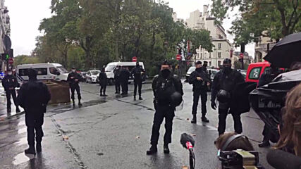 France: Police on scene after two injured in stabbing attack near former Charlie Hebdo office