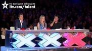 Журито и публиката изтръпнаха по време на този номер - Великобритания търси талант