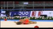 Мария Матева - обръч - Световна купа по художествена гимнастика - София 2015