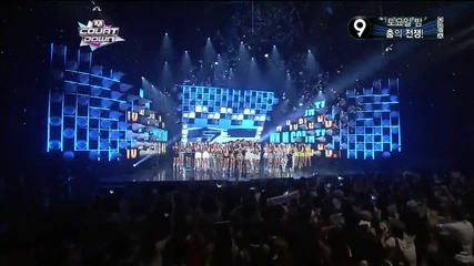 (hd) Today's Winner - Dynamic Duo ~ M Countdown (11.07.2013)