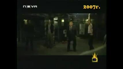 бойко Борисов се заканва на Ахмед доган много смях :d:d - Господари на ефира