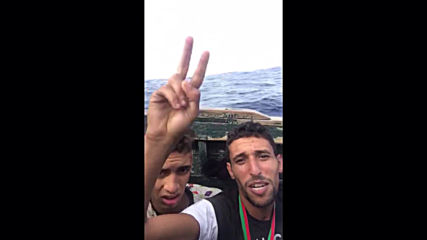 At Sea: Moroccan taekwondo champ migrates to Europe without documents, throws medals into sea