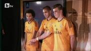 Реал (мадрид) представи оранжеви екипи за Шампионската лига