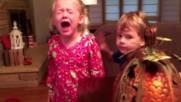 Къде са ми бонбоните! Деца се ядосват на родителите си, че са им изяли бонбоните от Хелоиун 2016