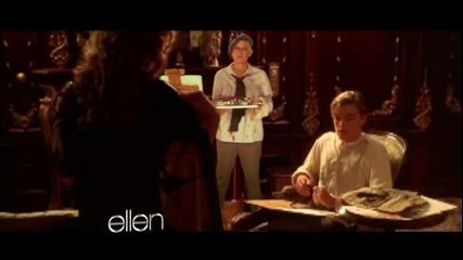 Sneak Peak Ellen in 'titanic'!