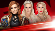 Becky Lynch firma contrato con Lacey Evans y Charlotte Flair: WWE Ahora, Mayo 13, 2019