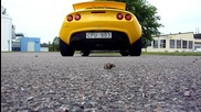 Lotus Exige S 240 with Larini Clubsport exhaust and Piper cross Vis