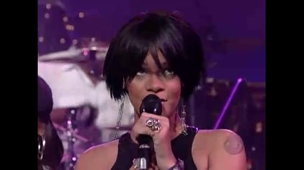 Rihanna - Shut up and drive live @ David Letterman