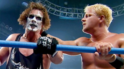 Jeff Jarrett goes low against Sting: WCW Thunder, Sept. 13, 2000
