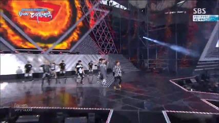 Block B - Very Good ( Rock Ver. ) @ 2014 Dream Concert [ H D ]