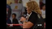 (14 Август, 2006, Raw) Wwe Champion - Категоризираната Суперзвезда Острието!