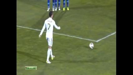 Кристиано Роналдо срещу вятъра