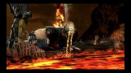 Mortal Kombat 9 Komplete Edition Всички Stage Fatalities