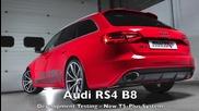 Звук от спортна генерация за Audi Rs4 B8 V8 от Milltek Sport
