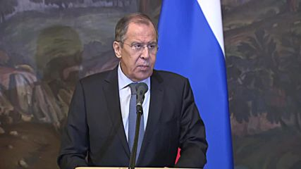 Russia: US pulling out from INF treaty would be 'met with counteraction' - Lavrov