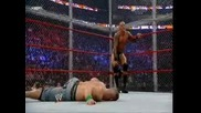 Hell in a Cell 2009 - John Cena vs Randy Orton ( Wwe Championship) ( Hell in a Cell Match)