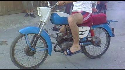 - Varbtsa Mn. yako Balkanche 50 cc Pali gumi ( balkan Burnaut )