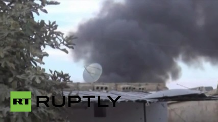 Syria: Fighting erupts as govt. forces break siege of Kweires airbase *GRAPHIC*