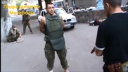 Войник рисковано тества бронежилетка по руски стил !