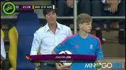 Германския треньор тролва дете
