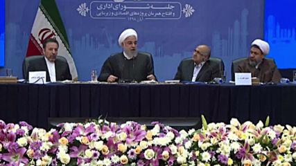 Iran: Rouhani blames Israeli, Saudi pressure for US JCPOA withdrawal