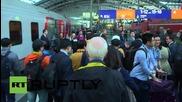 Germany: Eurasia Friendship Express arrives in Berlin