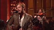 Kings of Leon - Radioactive on Saturday Night Live