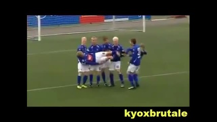 Funny Football Goal Celebrations Compilation