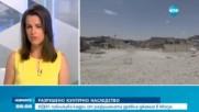 ИДИЛ публикува кадри от разрушената древна джамия в Мосул