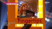 {бг Превод} Produce 101 (pinkrush) - Fingertips