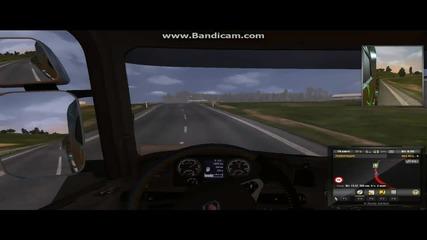 """""""на път със Scania R730 V8"""" - Ets 2 (steam Version)"""
