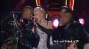 Christina Aguilera - Bionic / Not Myself Tonight / Whoohoo ( live at Mtv Movie Awards 2010)