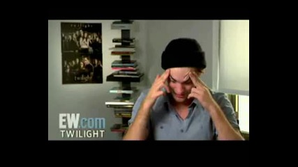 Funny Interview Moments with Robert Pattinson 1