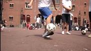 Амстердамци Правят Жесток Freestyler [hd]
