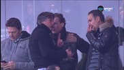 Иво Тонев и Домусчиеви в разпален диалог след мача