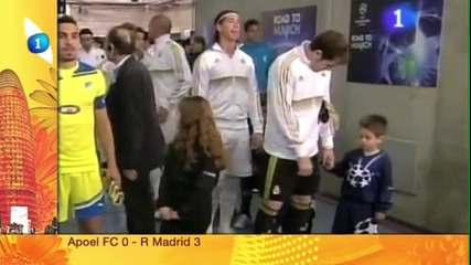 Ето къде Casillas си замазва сополите