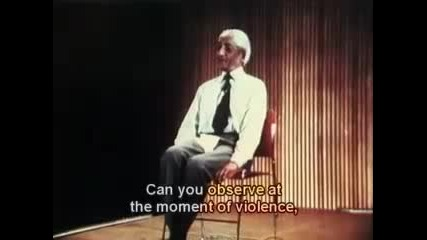 J. Krishnamurti 1970 Public Talk Part 6 of 6