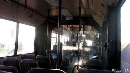 Мерцедес О 405 Г: Пътуване с А 8235 Ва по линията Несебър - Бургас /спомени от миналото/