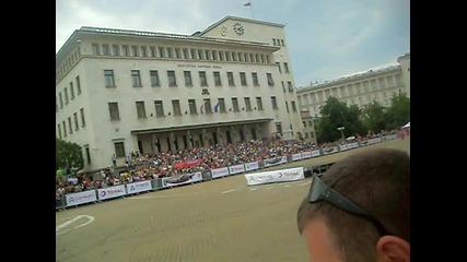 Даниел Сордо в София 04.07.2010 - първо излизане