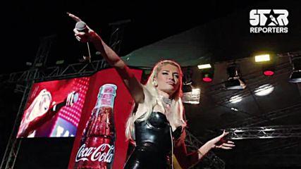 На живо: Era Istrefi - Bonbon (Coca-Cola Tour)