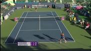 Urszula Radwanska vs Daniela Hantuchova Stanford 2013 Highlights