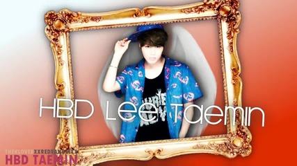 Hbd Taemin Full + xxredxangelxx