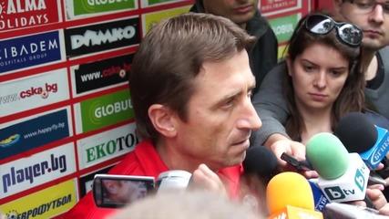 Нанков: Отличен мач за нас, имаме сили и възможности да станем шампиони