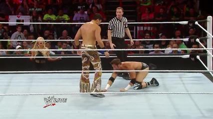 Zack Ryder vs. Fandango: Raw, July 21, 2014