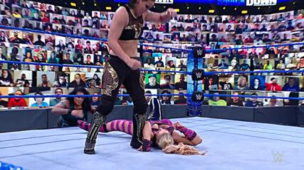Natalya vs. Shayna Baszler: SmackDown, April 16, 2021