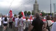Poland: Former Polish Presidents join thousands in anti-govt rally in Warsaw